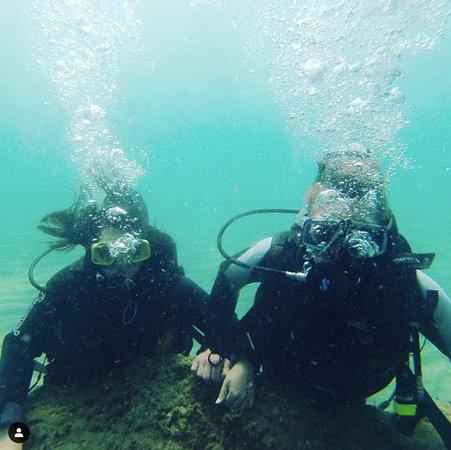 Atlantique Holiday Club: Duiken in duikcentrum Aqua Sport DIVE