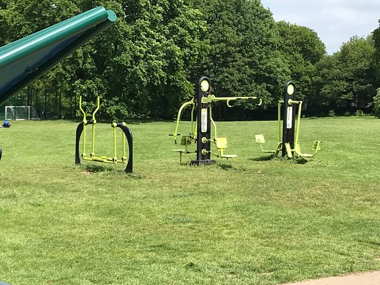 Leavesden Country Park: Adult outdoor gym