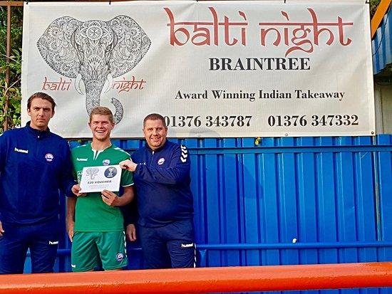 Balti Night Braintree: BRAINTREE FOOTBALL CLUB