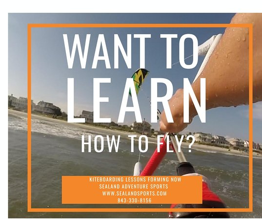 Sullivan's Island, Carolina del Sud: Learn how to kiteboard with one of our certified instructors