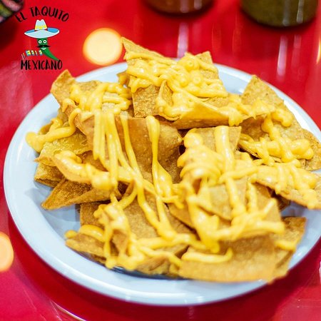 El Taquito Mexicano: Nachos con queso