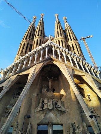 Basilica of the Sagrada Familia: Rear view