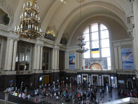 Kiev-Passazhirskiy Railway Station