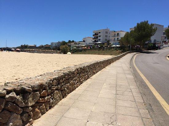Cala Marcal, Spanien: Road to the beach