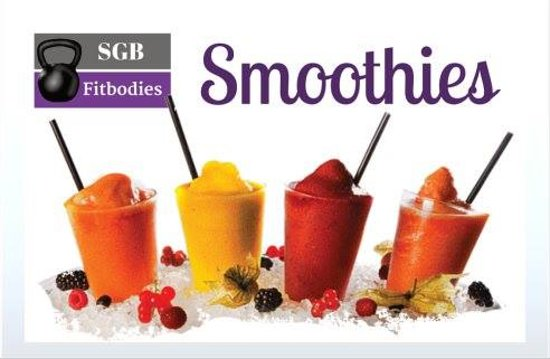 Delicious and nutritious smoothies!