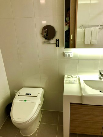 Hamilton Hotel Seoul: The bidet was great! All hotels should have this installed!