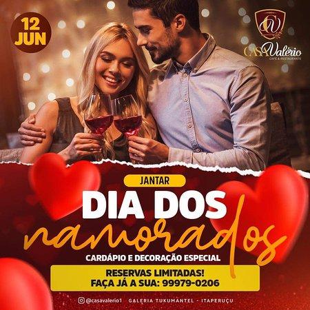Itaperucu, PR: Dia dos namorados. Reservas 999790206 ou 36031045
