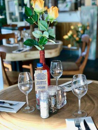 Bon Chef: dineren aan de boomstam tafel