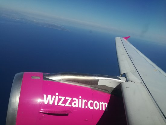 Wizz Air Flight W6-2442 from Athens to Budapest