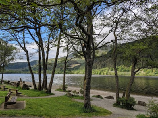 Scottish Guided Tours: Loch Lubnaig - coffee time!