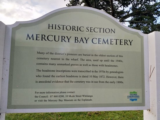 Mercury Bay Cemetery