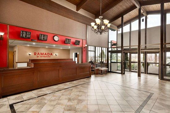 Ramada by Wyndham Spokane Airport: Reception