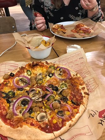 Pizza Picture Of Mod Pizza London Tripadvisor