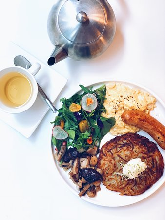 Botany: Customise your own breakfast according to what you like.