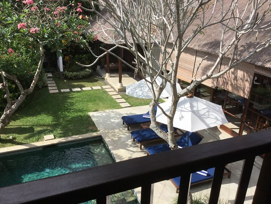 Karma Jimbaran: This picture taken from the upstairs bedroom of our 4 bedroom villa