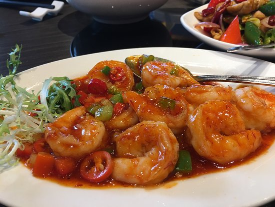 Spicy Prawns - Not spicy enough and I thought the portion size were a bit small for the price charged. Also not very spicy at all.