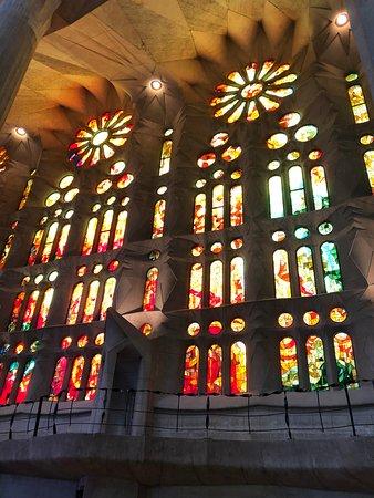 Basilica of the Sagrada Familia: Interior