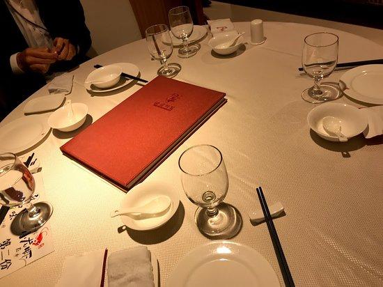 Yuxin Sichuan Dish: テーブル
