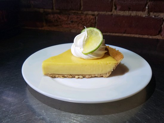 Wirtz, VA: House made key lime pie