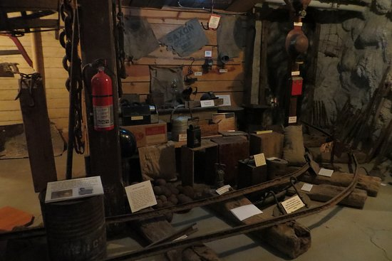 Mine. Ouray County Museum, CO. May 2019
