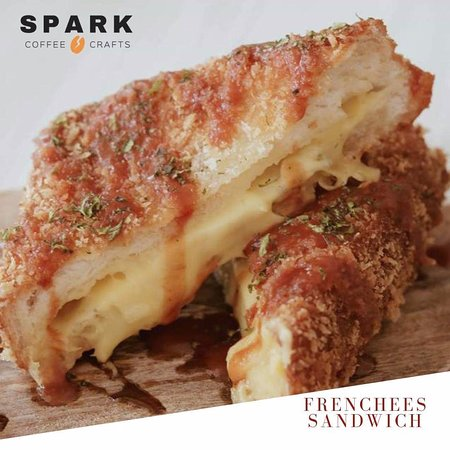 Spark Coffee + Crafts: Frenchees Sandwich (Best Seller)