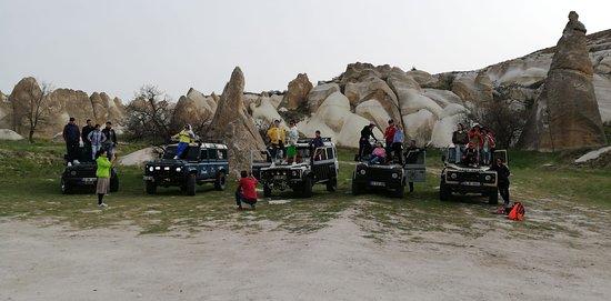 Jeep Safari along the beautiful valleys of Cappadocia - Vigo Tours