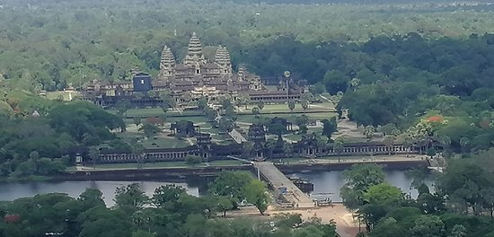 Angkor Wat from the skies...