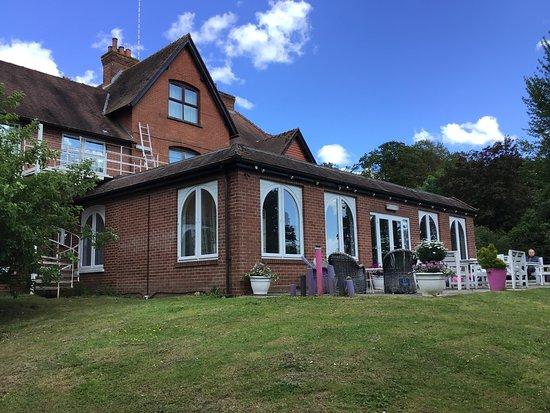 Cholderton, UK: Quiet spot