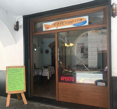La Tavernetta in via Entella 87 a Chiavari