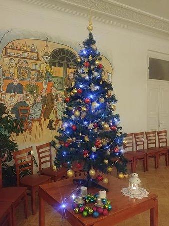 Restaurace Švejk Příbram: Vánoční stromek