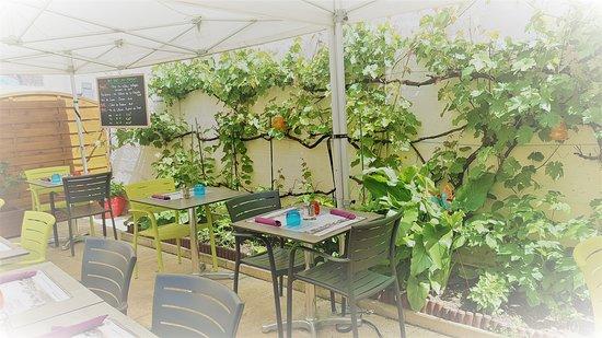 Le Caméléon : Terrasse