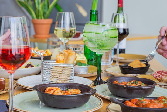 Sharing food always brings people together. Order a few tapas and dishes and share!