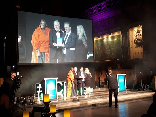 Friends of Williamson Tunnels receiving the Hidden Gem,  Liverpool City Region, Tourism Award 2019  Photos used with permission:  Liverpool City Region – Local Enterprise Partnership) & Marketing Liverpool