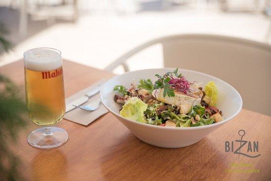 Bizan: How about a fresh Cesar's Salad?