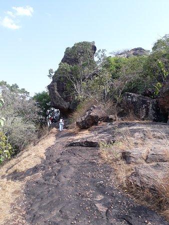 Way to pachmarhi rock paintings