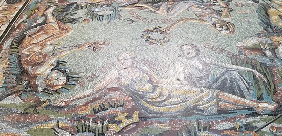 National Gallery: Mosaic floor