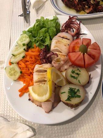 Restaurante Gastronomo: Squid
