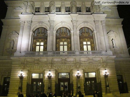 Opera Comique: Opéra-Comique, Paris: main entrance