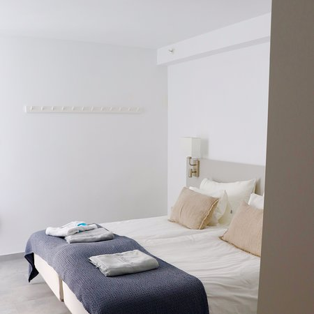 Room all in white, Scandinavian style