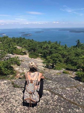 Precipice Trail: top of the rock