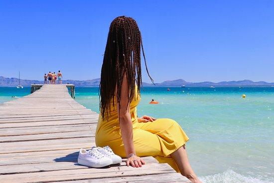 Sunwing Alcudia Beach: Beach peer near the hotel