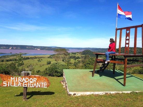 Nueva Alborada, Paraguay: Mirador Silla Gigante