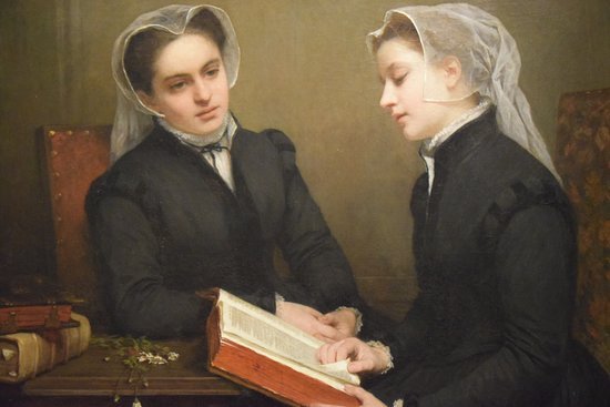 Reading the Bible by Henriette Browne