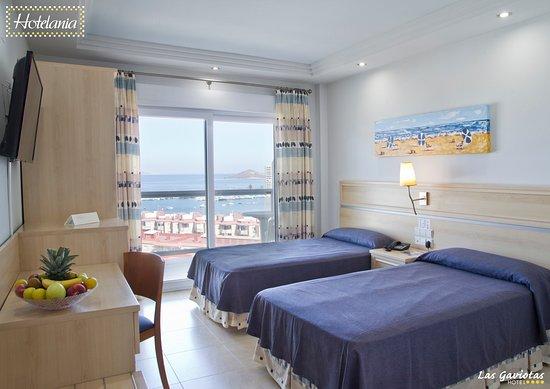 Las Gaviotas, hoteles en La Manga del Mar Menor