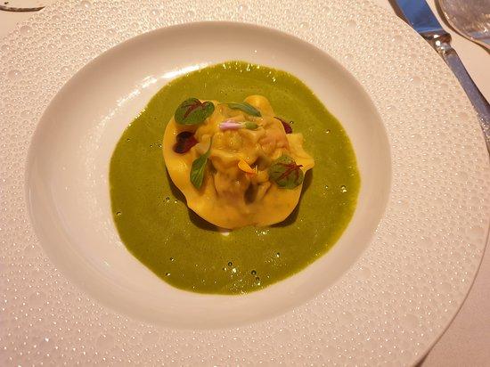 Restaurant Gordon Ramsay: Lobster ravioli