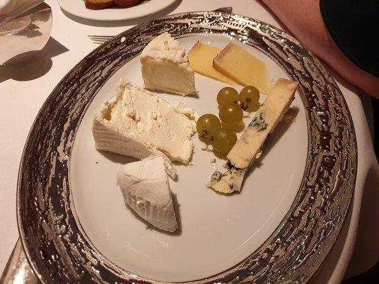 Restaurant Gordon Ramsay: Cheese