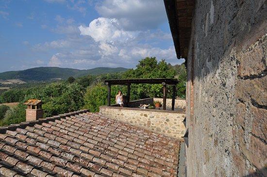 terrace - Изображение Марчильяна, Radicondoli - Tripadvisor