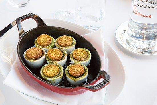 Brasserie du Louvre - Bocuse: Escargots Bocuse