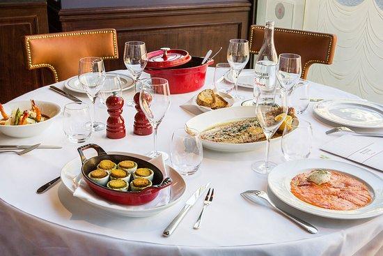 Brasserie du Louvre - Bocuse: Table Bocuse