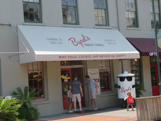 The famous Byrd Cookie Store